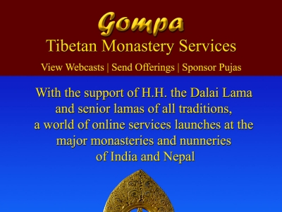 Gompa services